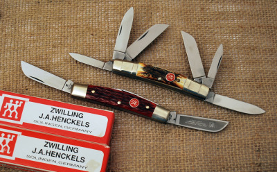 Four and Six Blade Henckels Germany Congress Knives