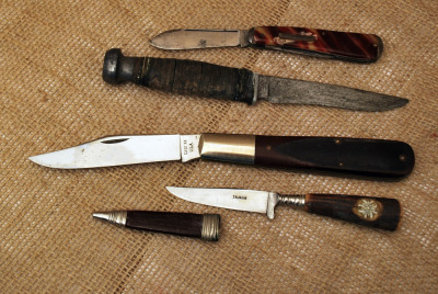 Group of Four Various Vintage knives