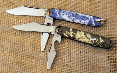 Roy Rodgers & Trigger and Rin-Tin-Tin & Rusty Vintage knives