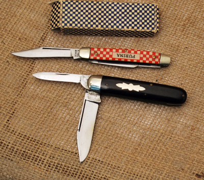 Two Vintage Knives: Ulster & Purina