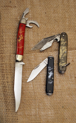 Vintage Roy Rodgers & Trigger Official Knives