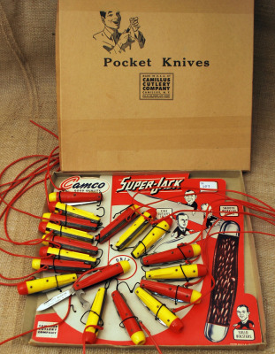 Vintage Camco Jet Knives with Whistle Built In
