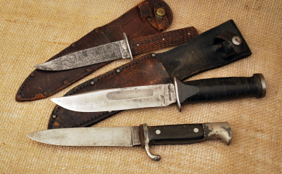 Robeson, Cattaraugus and Soffe Germany fixed blades