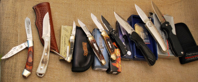 Nine Imported Knives: Trader's Ideal Assortment