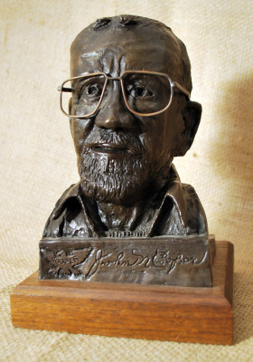 One of Five: Bronze Bust of John Nelson Cooper